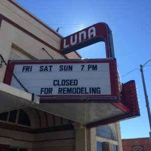 Luna Theater - Clayton, New Mexico