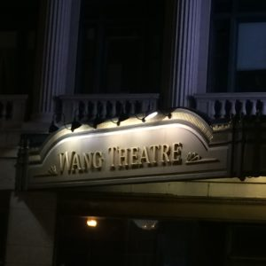 Wang Theatre - Boston, Massachusetts